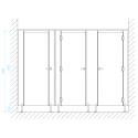 CS12 WC-fülke méretek