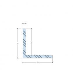 PL18N-2 L profil méretek