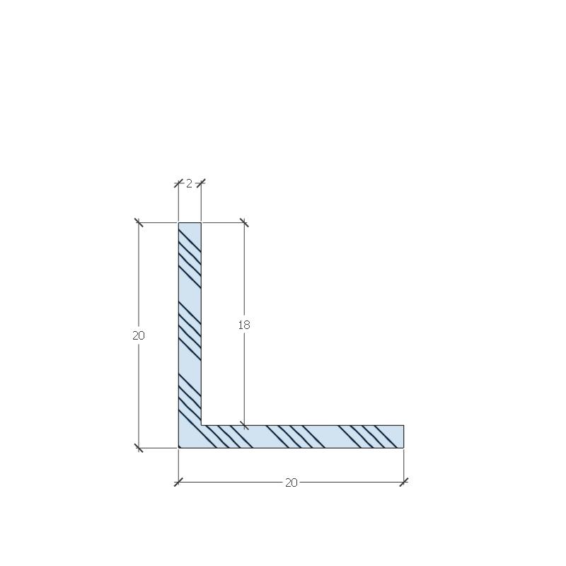 PL18N-3 L profil méretek