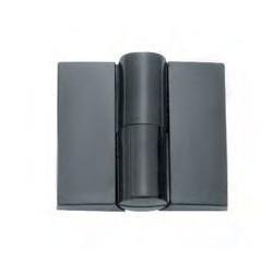 YA-25B zsanér (balos), műanyag, fekete
