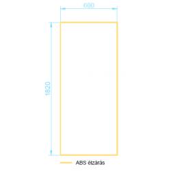L18A-60 ajtó panel méretek