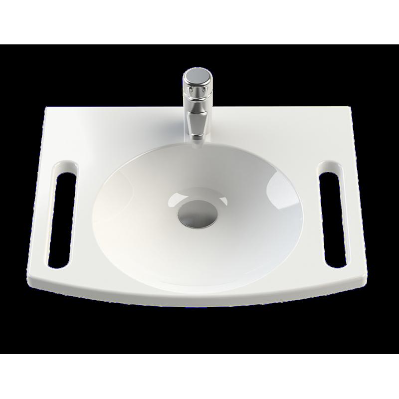 helopal R60 akadálymentes mosdópult
